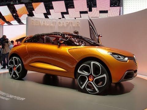 renault captur concept car youtube. Black Bedroom Furniture Sets. Home Design Ideas