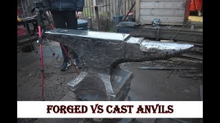 Forged vs Cast Anvil