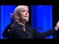 Con Marine Le Pen la ultraderecha francesa lanzó su campaña presidencial