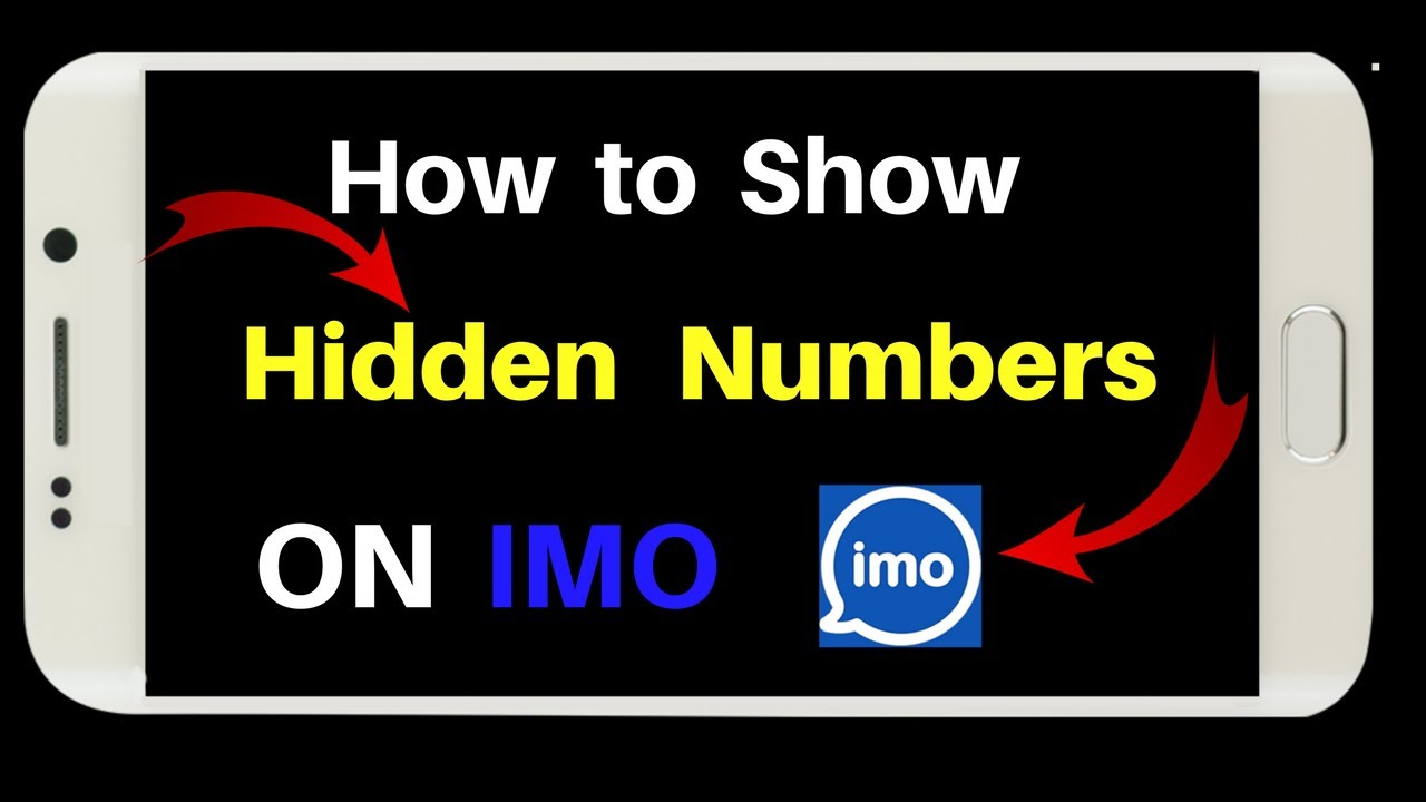 How to Show hidden Numbers in Imo, Hidden Secret Of IMO