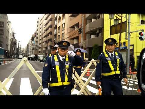 【右翼】韓国大使館 抗議街宣【街宣車】