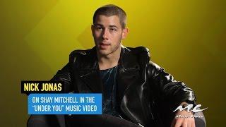 Nick Jonas on Shay Mitchell