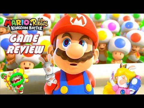 WoW! Mario Rabbids Plus Kingdom Battle - Nintendo Switch Game Review - Part 1