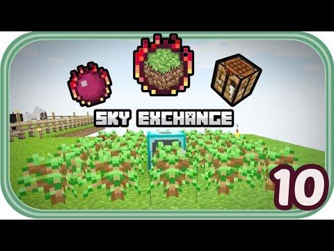 Unnötige Dinge und Slimes - Minecraft Sky Exchange #010 - Deutsch - Chigocraft