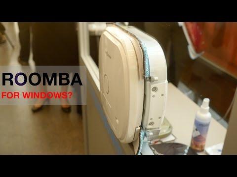 A robotic window cleaner? - WindowMate eyes-on