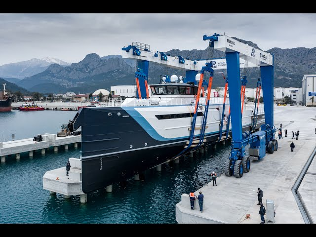 Damen launches 55m Time Off