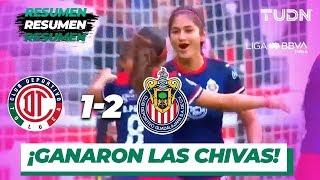 Resumen y Goles Toluca 1 - 2 Guadalajara | Liga MX Femenil - Jornada 12 - Apertura 2019 | TUDN