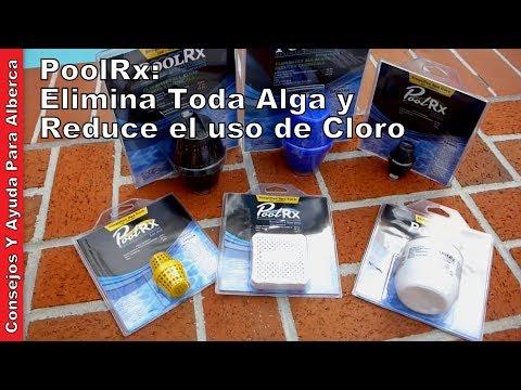 PoolRx: Elimina Toda Alga y Reduce el uso de Cloro