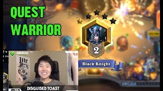 [DisguisedToastHS] Quest Warrior - Boomsday Standard Deck!