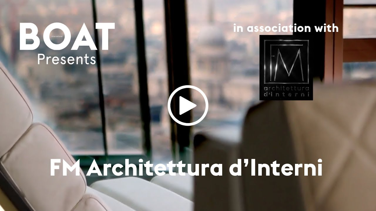 Create your dream yacht interior with fm architettura d for Architettura d interni