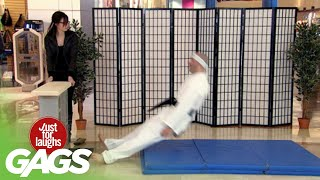 Worst Karate Class!  | Just for Laughs Compilation