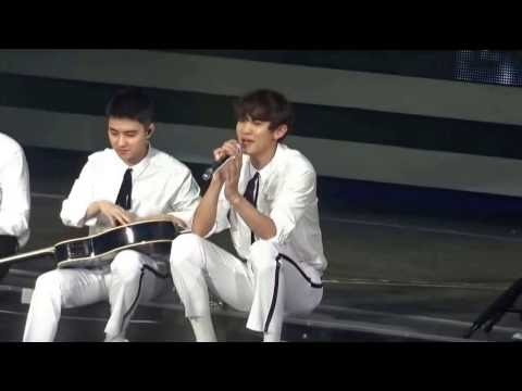 [Fancam] EXO in EXO'rDIUM - Acoustic Version - TENDER LOVE - LOVE ME RIGHT