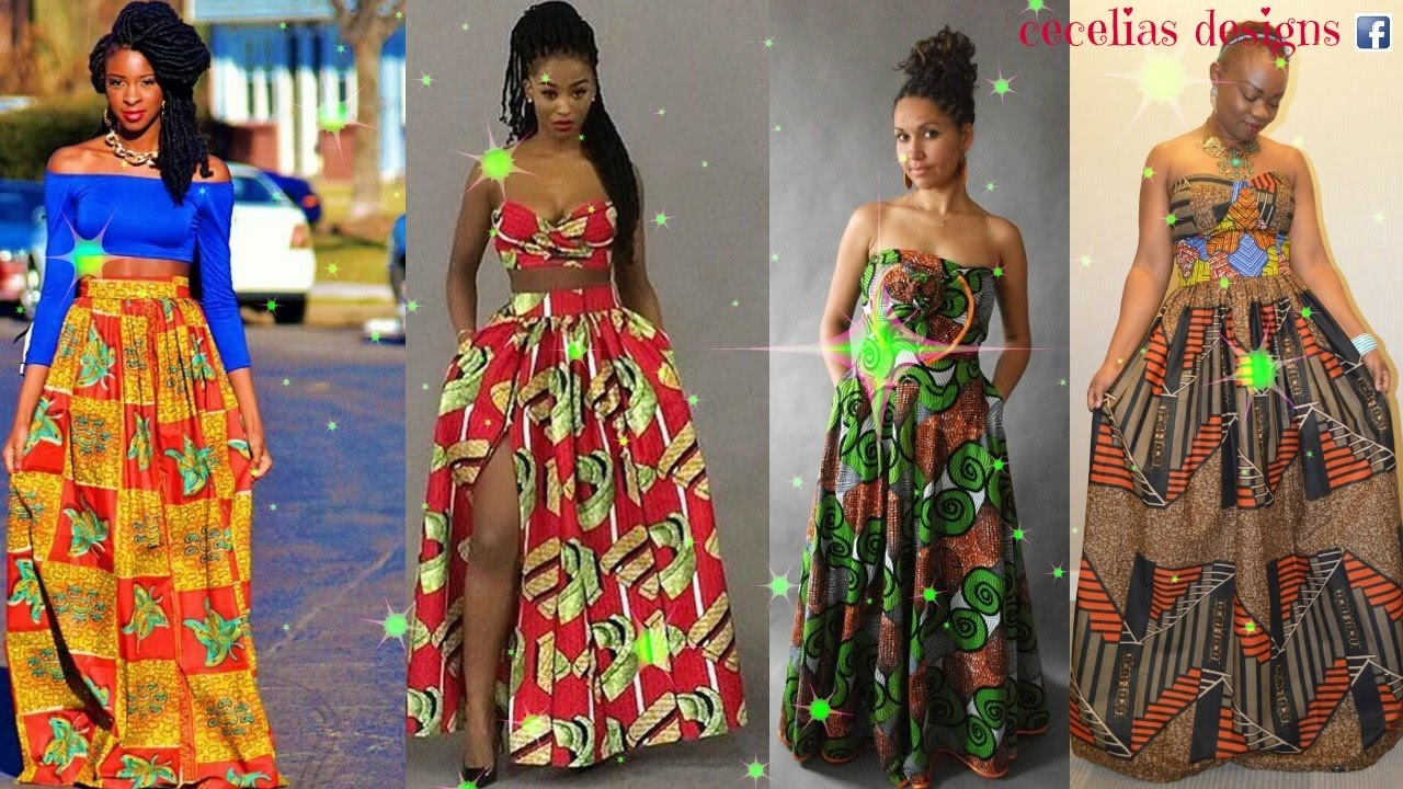 African Dresses - YouTube