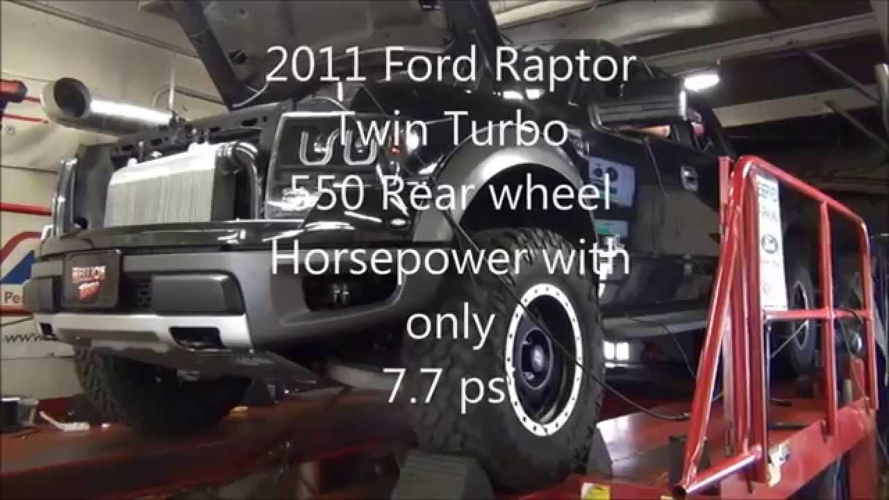 Hellion Twin Turbo Ford Raptor 550 Rwhp Youtube