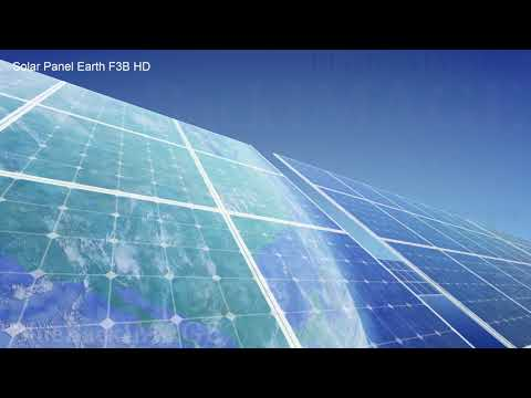 Solar Panels Renewable Energy Sun Power Green clean Solar Panel Earth F3B HD
