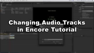 Changing Audio Tracks in Encore Tutorial