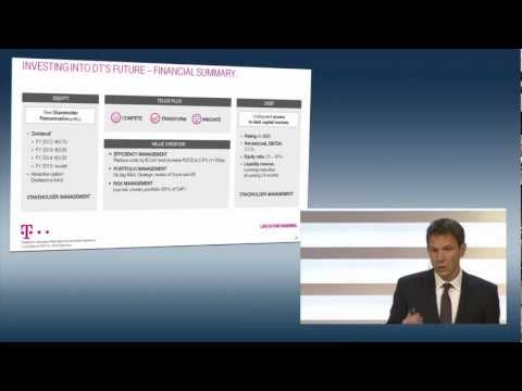 René Obermann (CEO) on STRATEGY AND OUTLOOK - Deutsche Telekom Capital Markets Day 2012