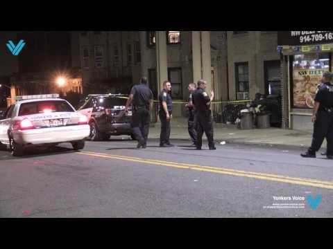 Woman shot at 148 N Broadway
