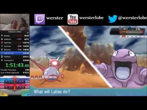 Pokemon Alpha Sapphire Speedrun in 3:21:18