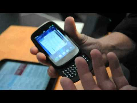 HP Palm Pre3 webOS hands-on demo