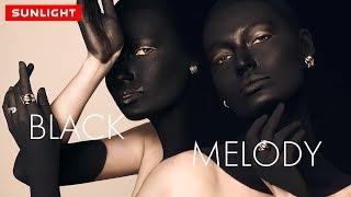Тренд весны 2019 | Эксклюзивная коллекция золотых украшений «BLACK MELODY»  Каталог Санлайт!
