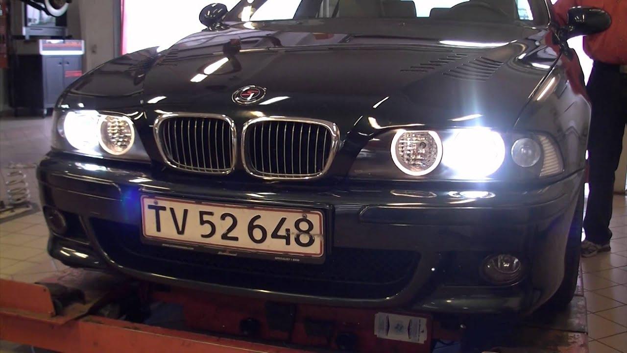 Bmw E39 Get S Bi Xenon Youtube