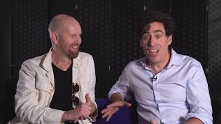 Sean Foley & Stephen Mangan talk very seriously about The Man in the White Suit - Wyndham's Theatre