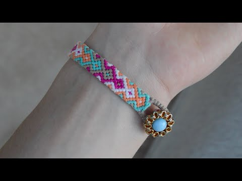 DIY Some tips for friendship bracelets. How to start and end the bracelet | Creative Twins
