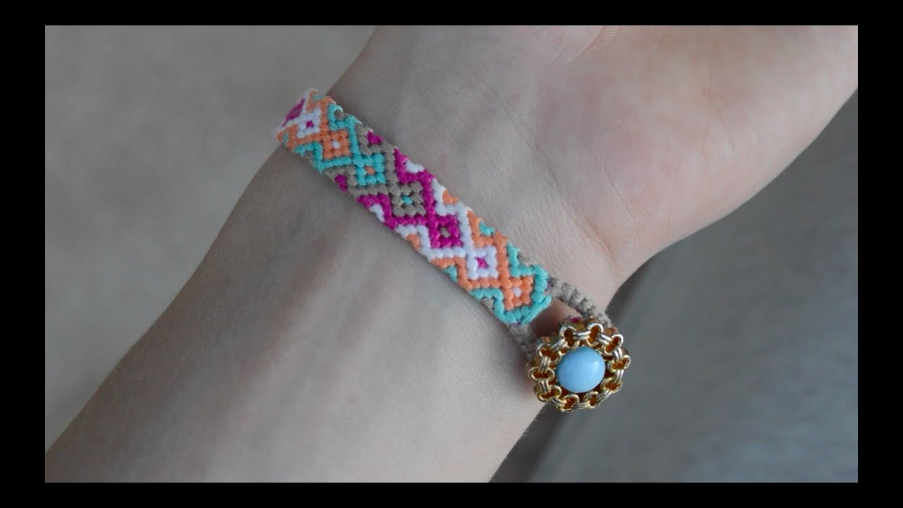 Diy Some Tips For Friendship Bracelets How To Start And End The Bracelet   Creative Twins