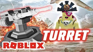 FIRST Time Clay TURRET | ROBLOX INDONESiA