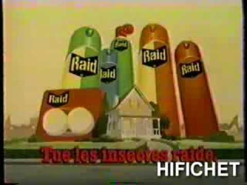 Commercial Raid House Garden Bug Killer W Mel Blanc Doovi