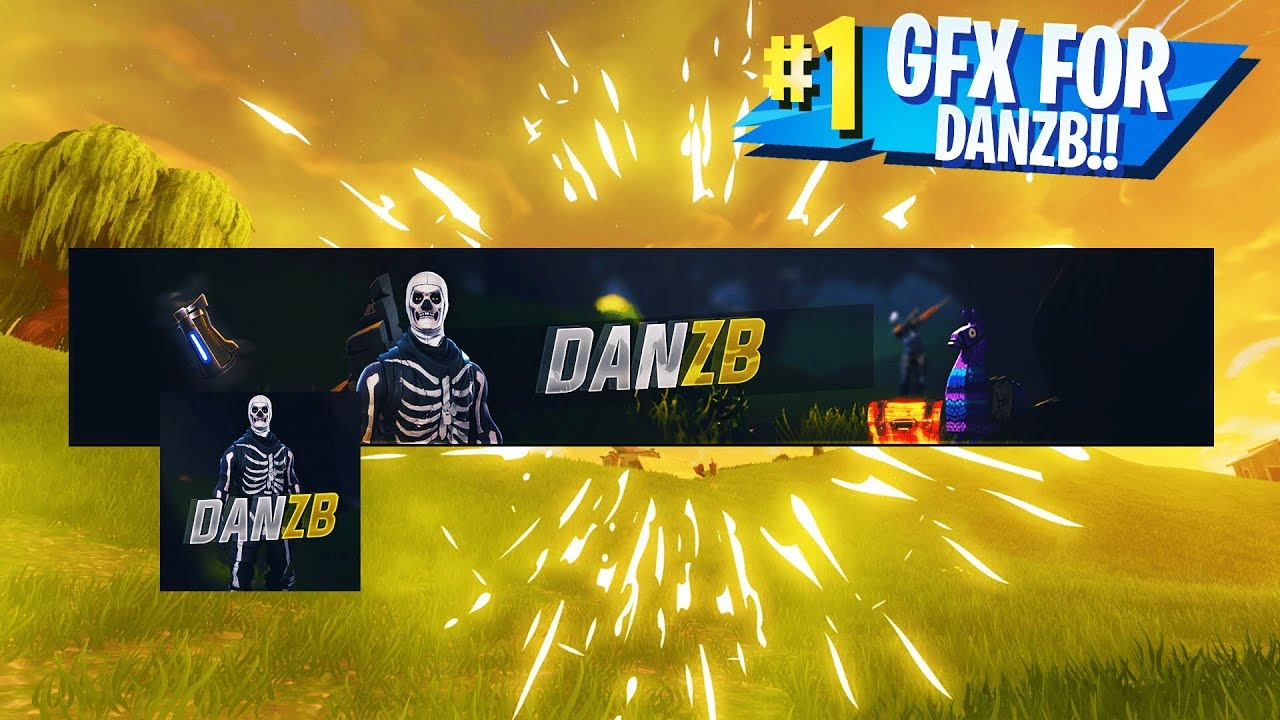 Fortnite Youtube Banner Icon For Danzb Youtube