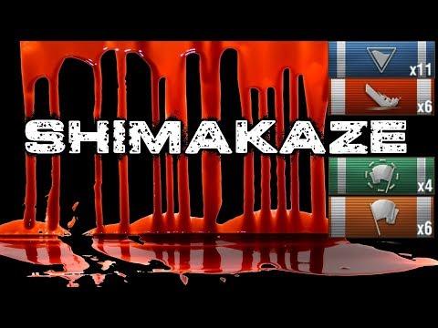 Shimakaze - 3260 Base XP 6 Kills 221K Close Game || World of Warships