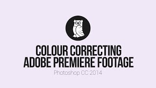 Colour Correcting Adobe Premiere footage in Photoshop CC 2014