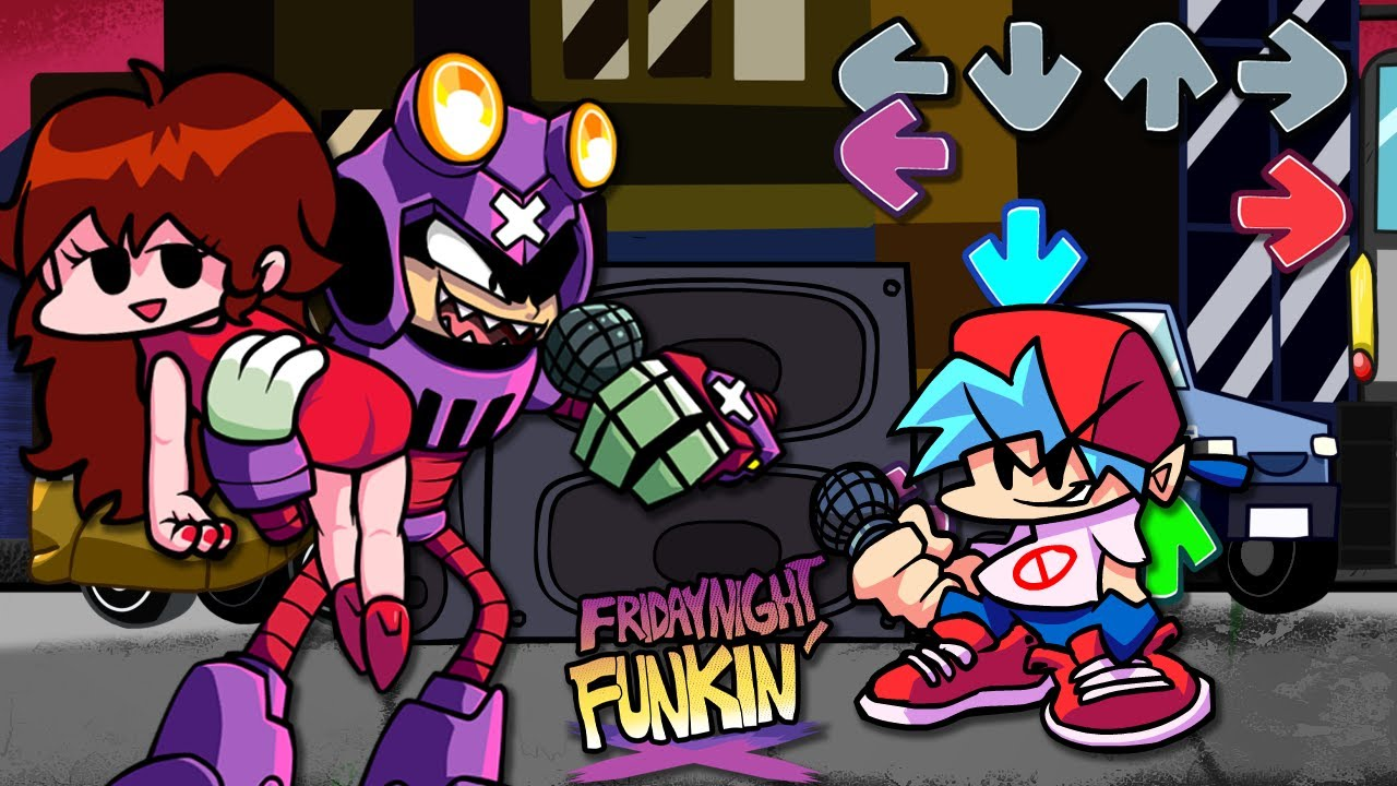 Girlfriend Gets Kidnapped by Nefarious in Friday Night Funkin'