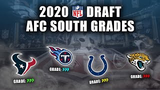 2020 NFL Draft Grades | All 7-Rounds | AFC South