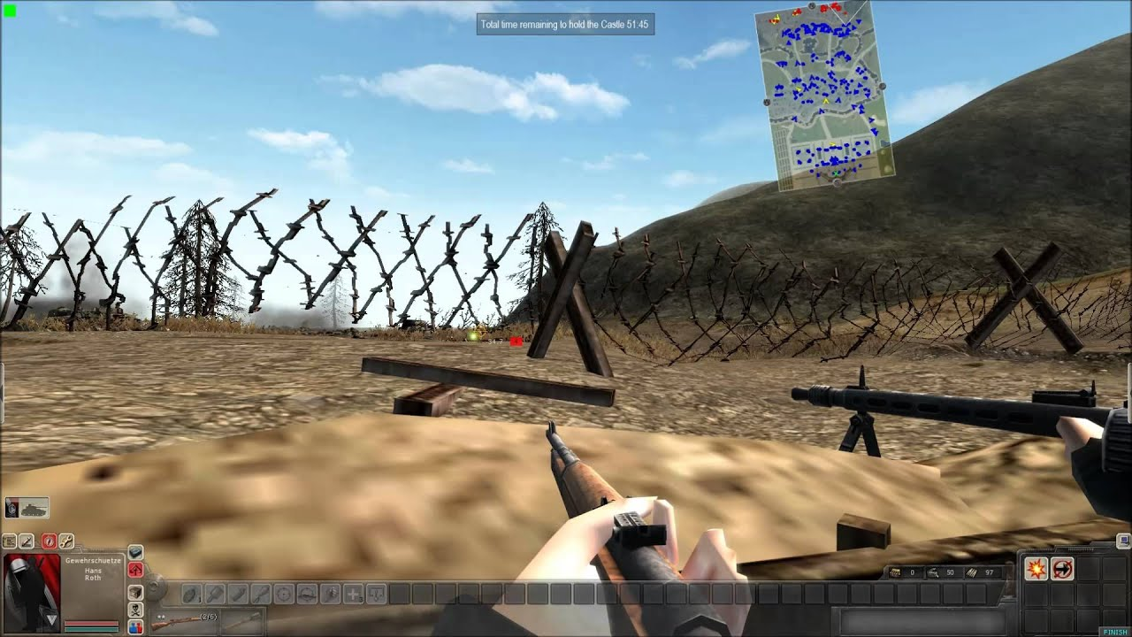 Men of War Assault Squad First Person Gameplay - YouTube