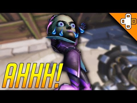 Overwatch Funny & Epic Moments - SOMBRA'S HEAD GETS CRUSHED - Highlights Montage 209
