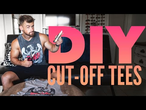 How To: DIY Cut-Off Tee Shirts