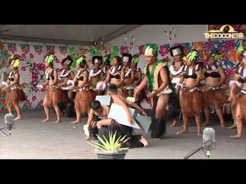 Polyfest 2015 Cook Islands Stage Southern Cross Campus