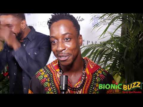 Shaka Smith Interview at Bello Launch Party