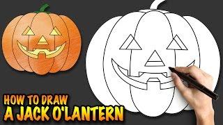 How to draw a Jack o