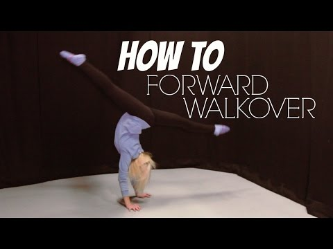 How To Do A Front/Forward Walkover | Gymnastics Tutorial