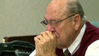 Repeat youtube video Ex-cop charged in killing weeps at bond hearing