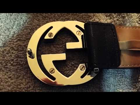 Gucci Belt Real Vs Fake Comparison Doovi