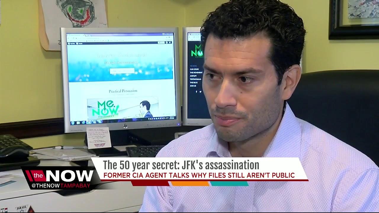 Former CIA agent talks why JFK files still aren't public