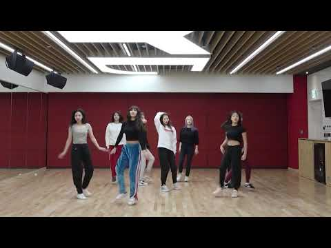 [mirrored \u0026 50% slowed] TWICE - YES or YES Dance Video