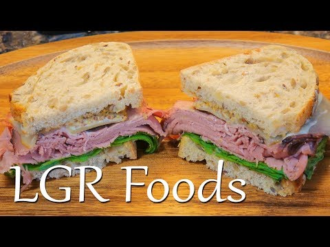LGRwich №9 - Sweetened London Broil And Muenster