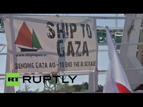 Sweden: Gaza-bound ship departs to challenge Israeli naval blockade