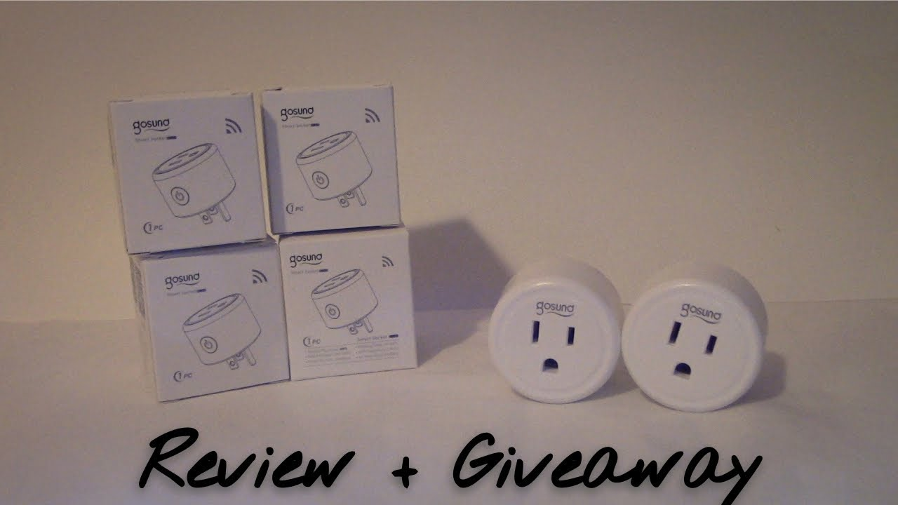 Gosund Smart Plug Review and GIVEAWAY (closed) - Echo and Home Compatible